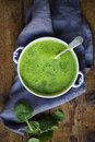 Spinach Soup Royalty Free Stock Photo - 49998235