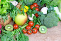 Organic Fruits And Vegetables Royalty Free Stock Images - 50007129