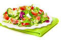 Salad Plate Royalty Free Stock Images - 50009069