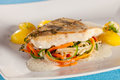White Fish Filet Of Perch. Stock Photography - 50019002