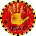 Area 51 Sign Royalty Free Stock Images - 50040629