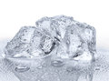 Three Ice Cubes Royalty Free Stock Images - 50048359