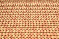 Roof Tiles Background Texture In Regular Rows Stock Photography - 50061172