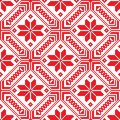 Belorussian Ethnic Ornament, Seamless Pattern. Vector Illustration Royalty Free Stock Photography - 50072677