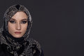 Beautiful Woman In Middle Eastern Niqab Veil Royalty Free Stock Image - 50080296
