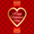 Labels With Happy Valentine S Day; Be My Valentine/Be Mine Text Royalty Free Stock Photography - 50088277