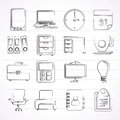 Business And Office Icons Stock Photos - 50089903
