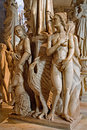 Pisa - Detail From Pulpit In The Cathedral Santa Maria Assunta By Sculptor Giovanni Pisano (1302 - 1310). Royalty Free Stock Images - 50106729
