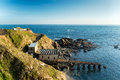 Lizard Point In Cornwall Stock Photos - 50131523