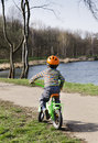 Child Cycling Stock Photos - 50136463