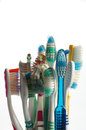 Toothbrushes Old Royalty Free Stock Photos - 50140238