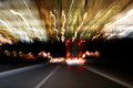 Blurred Lights From Road Traffic Royalty Free Stock Images - 50143929