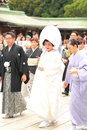 Japanese Wedding Ceremony Stock Image - 50152461