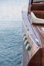 Wooden Luxury Boat Royalty Free Stock Photos - 50152548