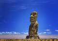 Ahu Vai Uri Moai Stock Photography - 50164262