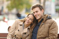 Couple In Love Hugging In An Urban Park Stock Images - 50172624