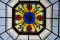 Stained Glass Ceiling Inside Indianapolis Capital Building. Royalty Free Stock Photos - 50173018