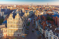 Aerial View Of Ghent From Belfry, Belgium Stock Images - 50186454
