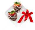 Chocolate Covered Strawberries Royalty Free Stock Photography - 50199297