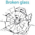 Broken Glass Royalty Free Stock Photo - 5020395