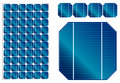 Solar Panel Illustration With Detailed Cells Stock Images - 50250264