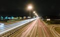 Transport Metropolis, Traffic And Blurry Lights Stock Images - 50261344
