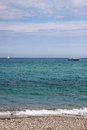 Sea View With Boat And Yacht Royalty Free Stock Images - 50263899