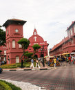 Red House In Malacca, Malaysia Stock Photo - 50269650