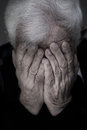 Crying Old Man Royalty Free Stock Image - 50278846