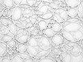 Abstract White 3d Background With Relief Circles Pattern Royalty Free Stock Photos - 50280938