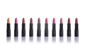 Set Of Lipsticks In Fashionable Colors Royalty Free Stock Photography - 50290387
