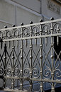 Wrought Iron Fence Stock Images - 50299764