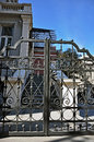 Wrought Iron Fence Stock Photography - 50299772