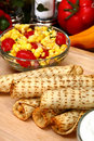 Chicken Taquitos Stock Photography - 5032832