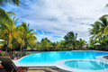 By The Pool Stock Image - 5038491