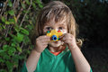 Little Boy With Toy Camera Stock Photography - 50302582