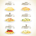 Pasta Dishes Stock Images - 50303134