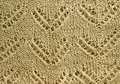 Beige Knitted Texture Royalty Free Stock Photo - 50303475
