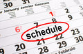 Schedule Stock Photo - 50331690