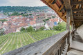 Esslingen Am Neckar Views From Castle Stairs, Germany Stock Images - 50362494