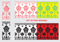 Set Of Ethnic Ornament Pattern Brushes. Vector Illustration Stock Photos - 50363443