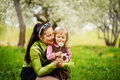 Mother With The Little Daughter Royalty Free Stock Image - 50370776