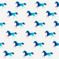 Horse Seamless Pattern. Vector. Vector Triangle Horse. Abstract Royalty Free Stock Image - 50384506