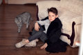 Boy In A Fur Coat Royalty Free Stock Photos - 50385308