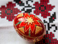 Red Easter Egg Royalty Free Stock Image - 50387836