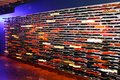 The Guitar Wall, A Real Piece Of Art,Hard Rock Cafe Entrance, New York City, USA Royalty Free Stock Image - 50388166