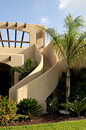 Stucco Stairway Royalty Free Stock Photo - 5044065