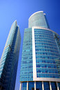 New Skyscrapers Business Centre In Moscow City Stock Photos - 5046443
