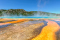 Beautiful Grand Prismatic Spring In Yellowstone National Park Stock Photos - 50421563