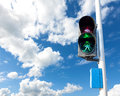 Green Color On The Traffic Light For Pedestrian. Royalty Free Stock Photo - 50425365
